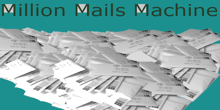pêle-mêle Million Mail Machine